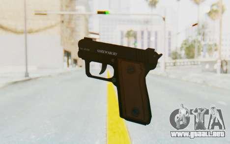 GTA 5 Shrewsbury SNS Pistol para GTA San Andreas tercera pantalla