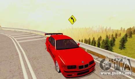 Kagarasan Pista para GTA San Andreas sexta pantalla