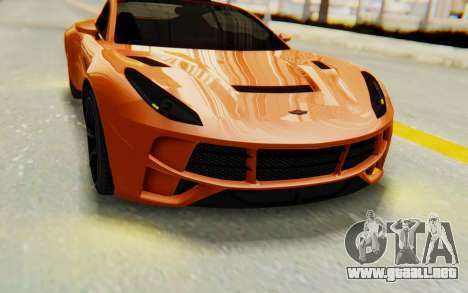 GTA 5 Dewbauchee Seven 70 IVF para visión interna GTA San Andreas