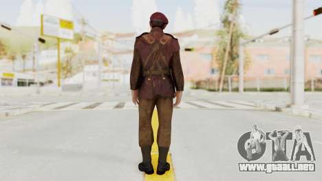 Captain America Super Soldier - Falsworth para GTA San Andreas tercera pantalla