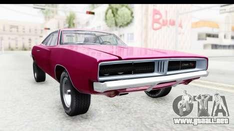 Dodge Charger 1969 Racing para GTA San Andreas