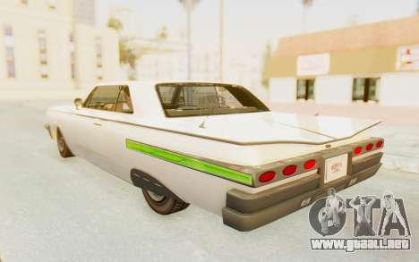 GTA 5 Declasse Voodoo Alternative v1 PJ para la vista superior GTA San Andreas