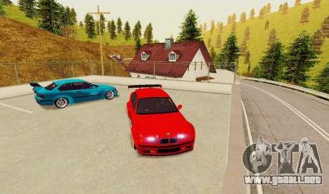 Kagarasan Pista para GTA San Andreas sucesivamente de pantalla