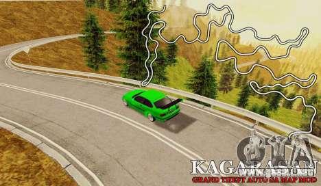 Kagarasan Pista para GTA San Andreas