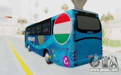 Neoplan Euro 2016 Hungarian Bus para GTA San Andreas left