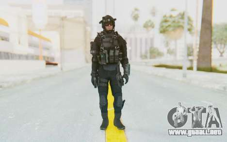 Federation Elite Assault Tactical para GTA San Andreas segunda pantalla