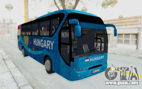 Neoplan Euro 2016 Hungarian Bus para la visión correcta GTA San Andreas