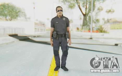 CoD BO2 LAPD v2 para GTA San Andreas segunda pantalla