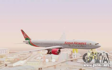 Boeing 777-300ER Kenya Airways para GTA San Andreas