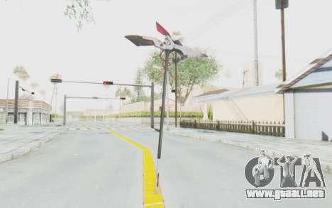 Levia Weapon para GTA San Andreas segunda pantalla