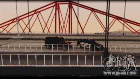 Subaru Impreza WRX STi Police Drift para la vista superior GTA San Andreas