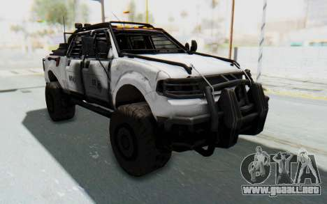 Toyota Hilux Technical MNU para GTA San Andreas