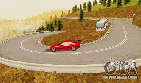 Kagarasan Pista para GTA San Andreas quinta pantalla