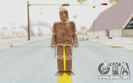 Mokujin para GTA San Andreas segunda pantalla