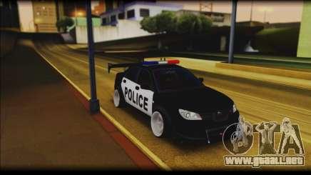 Subaru Impreza WRX STi Police Drift para GTA San Andreas