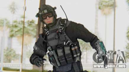 Federation Elite Assault Tactical para GTA San Andreas