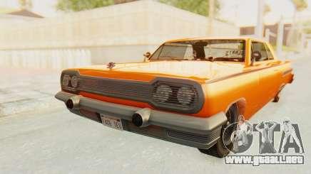 GTA 5 Declasse Voodoo Alternative v1 PJ para GTA San Andreas