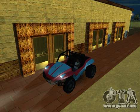 La Nueva Estación para GTA San Andreas quinta pantalla