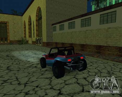 La Nueva Estación para GTA San Andreas segunda pantalla