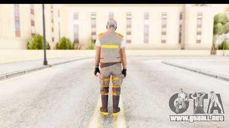 COD AW - John Malkovich Janitor para GTA San Andreas tercera pantalla