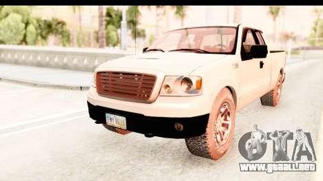 Ford F-150 4x4 2008 para GTA San Andreas