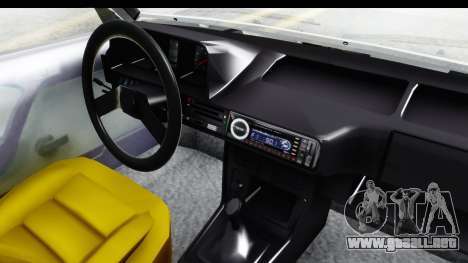 Fiat 131 Panorama para visión interna GTA San Andreas