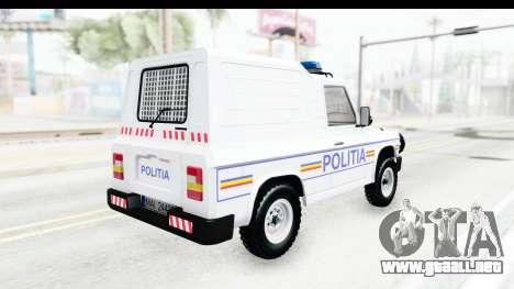 Aro 243 1996 Police para la visión correcta GTA San Andreas