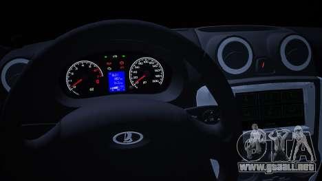 Lada 2190 (Granta) Sport para la visión correcta GTA San Andreas