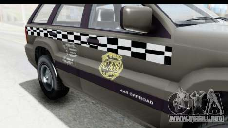 GTA 5 Canis Seminole Taxi Saints Row 4 Retro para visión interna GTA San Andreas