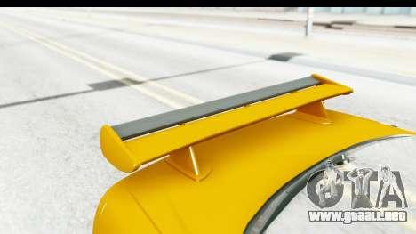 NFSU Eddie Nissan Skyline para visión interna GTA San Andreas