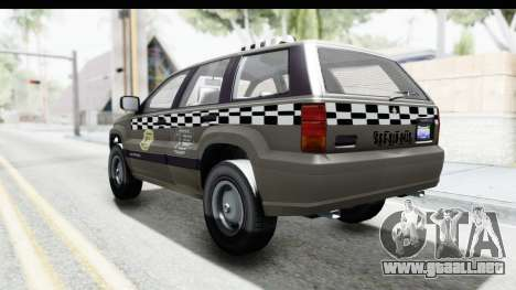 GTA 5 Canis Seminole Taxi Saints Row 4 Retro para GTA San Andreas left