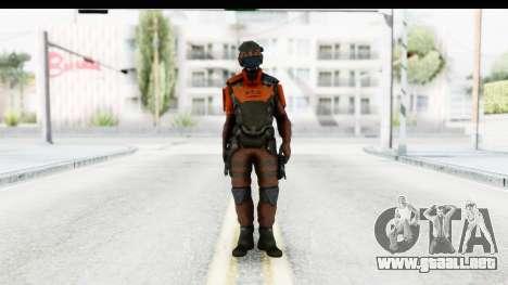 Homefront The Revolution - KPA v4 Red para GTA San Andreas segunda pantalla