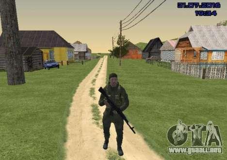 Luchador en la Diapositiva para GTA San Andreas segunda pantalla