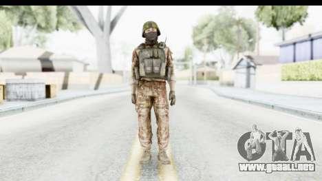 Global Warfare Turkey para GTA San Andreas segunda pantalla