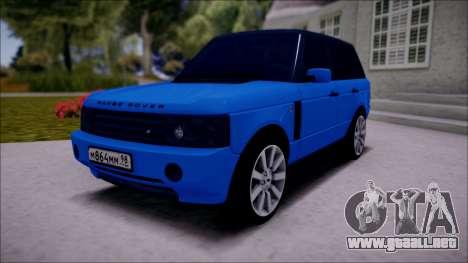 Land Rover Range Rover III (Pontorezka) para GTA San Andreas