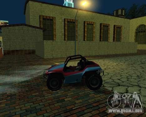 La Nueva Estación para GTA San Andreas sucesivamente de pantalla