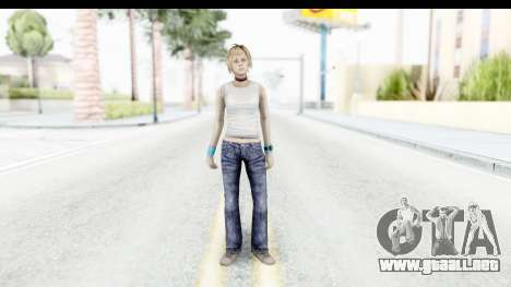 Silent Hill 3 - Heather Sporty White Base para GTA San Andreas segunda pantalla