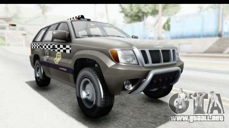 GTA 5 Canis Seminole Taxi Saints Row 4 Retro para GTA San Andreas