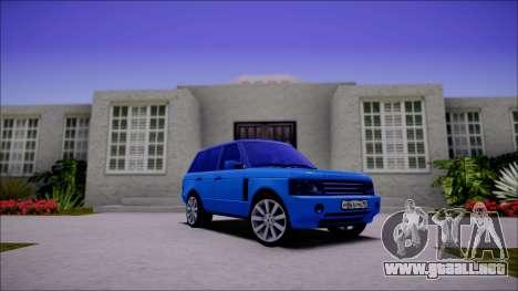 Land Rover Range Rover III (Pontorezka) para GTA San Andreas left