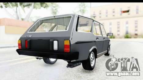 Fiat 131 Panorama para GTA San Andreas left