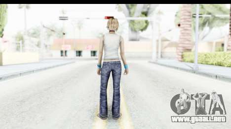 Silent Hill 3 - Heather Sporty White Base para GTA San Andreas tercera pantalla