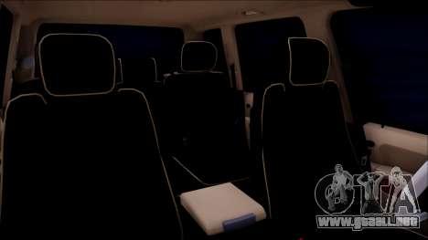 Land Rover Range Rover III (Pontorezka) para GTA San Andreas vista hacia atrás