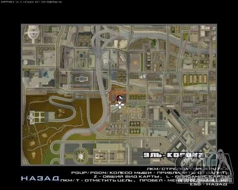La Nueva Estación para GTA San Andreas octavo de pantalla