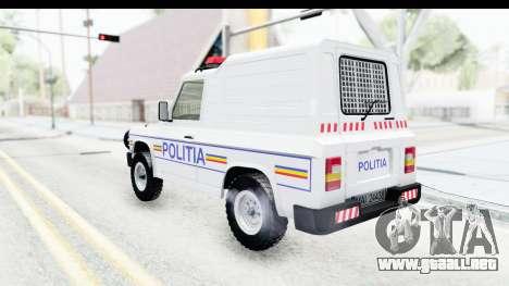 Aro 243 1996 Police para GTA San Andreas left
