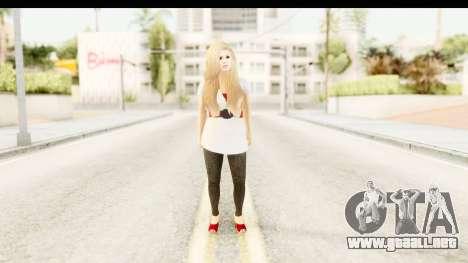 Adele para GTA San Andreas segunda pantalla