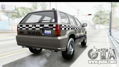 GTA 5 Canis Seminole Taxi Saints Row 4 Retro para la visión correcta GTA San Andreas