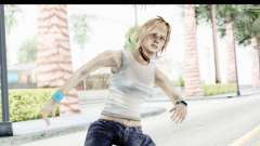Silent Hill 3 - Heather Sporty White Base para GTA San Andreas