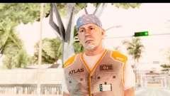 COD AW - John Malkovich Janitor para GTA San Andreas