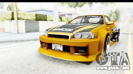 NFSU Eddie Nissan Skyline para GTA San Andreas