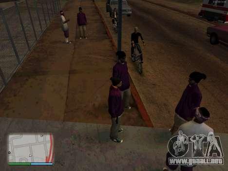 White CJ v3 Improved para GTA San Andreas segunda pantalla